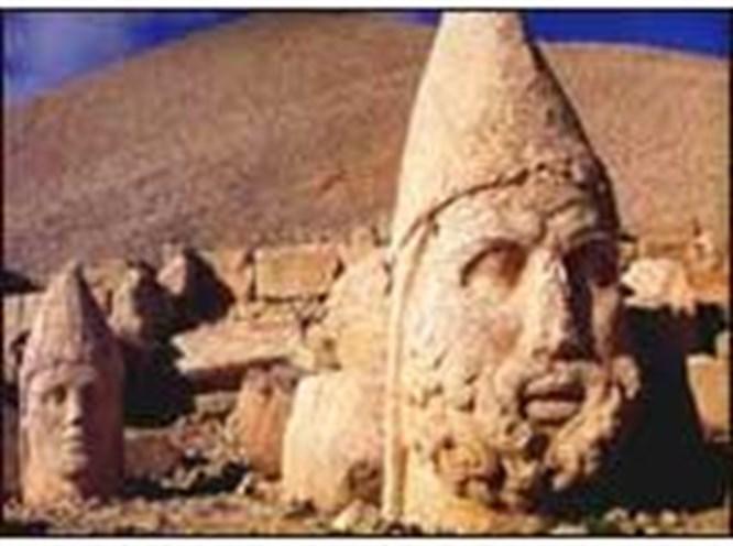 Turizmcilerden Nemrut'a Altın Elma